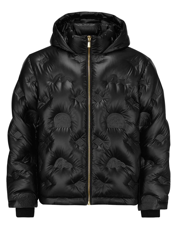 Embossed Monogram Down Jacket