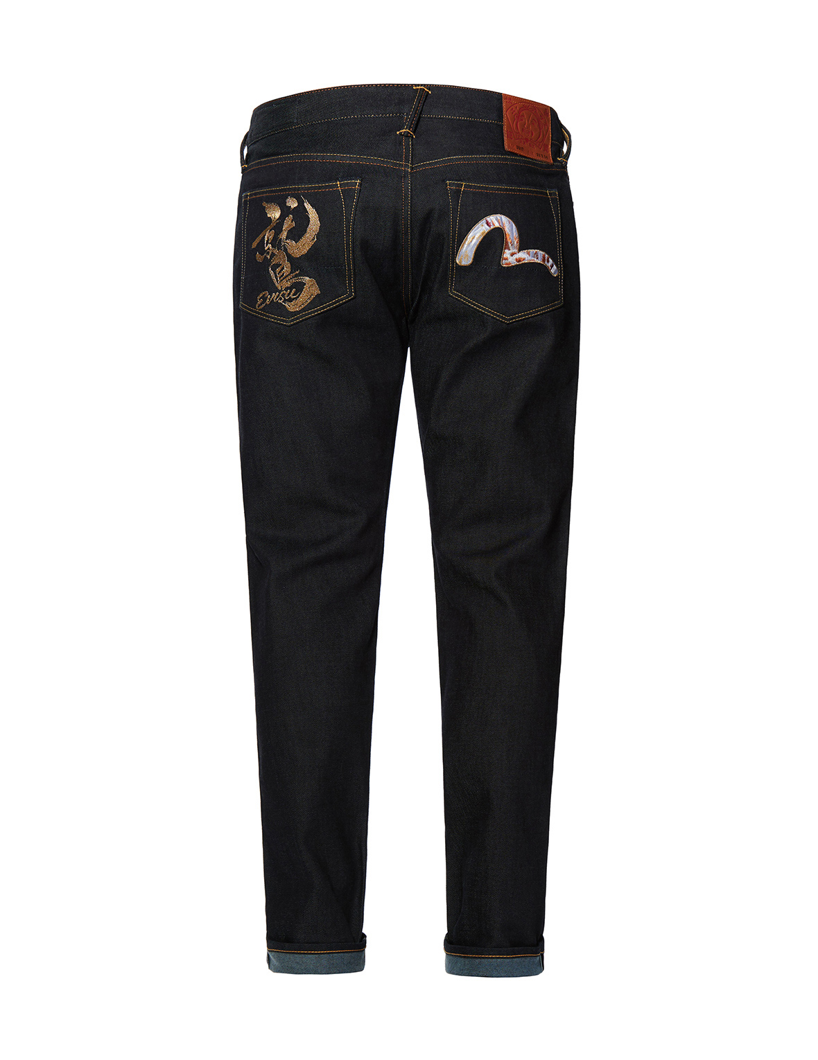 Taka Kanji and Seagull Embroidered Carrot Fit Jeans 2017