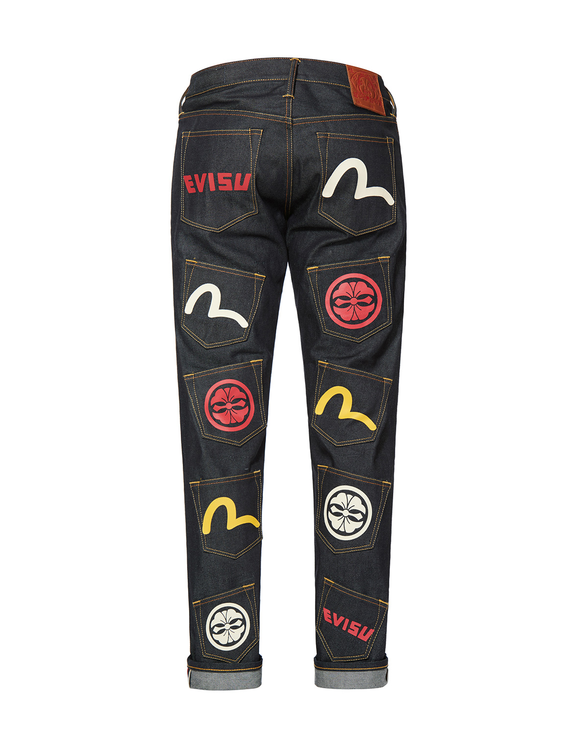Multi Pocket Slim Fit Jeans #2010