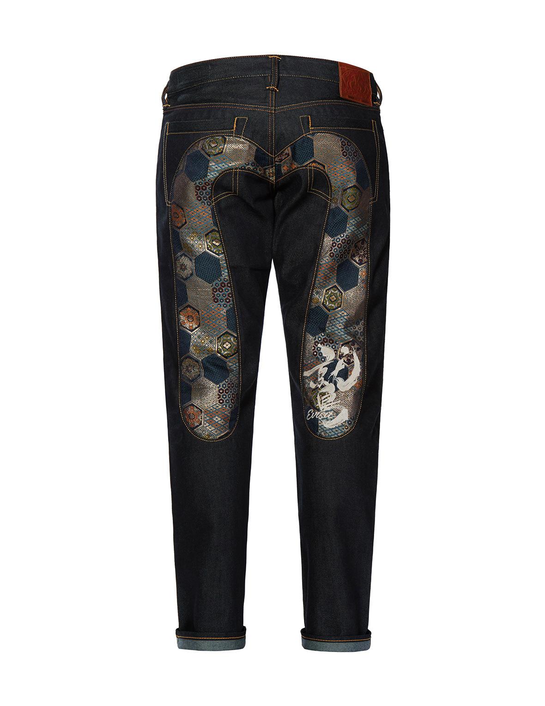 Brocade Graphic Daicock Insert Regular Fit Jeans 2008